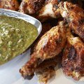 Chicken Wings with Salsa Verde (Guy Fieri)