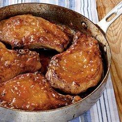 Apricot Glazed Pork Chops