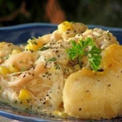 Slow Cooker Chicken N Dumpling
