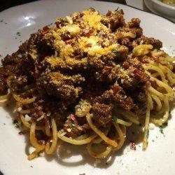 Spaghetti with Ragu Sauce
