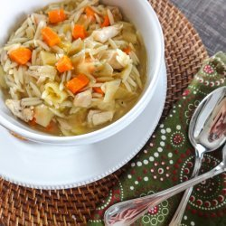 Lemon Chicken Soup recipe