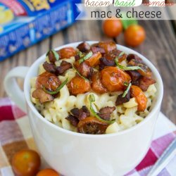 Ww Mac & Cheese with Bacon & Tomato