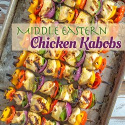 Middle Eastern Chicken Kabob
