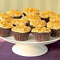 Chocolate Cupcakes and Peanut Butter Icing (Ina Garten) recipe