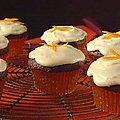 Chocolate Orange Cupcakes with Limoncello Frosting (Giada De Laurentiis)