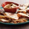 Chorizo and Shrimp Quesadillas with Smoky Guacamole (Rachael Ray)