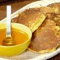 Corn Cakes with Honey (Rachael Ray)