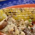 Corn with Pasilla Butter (Ree Drummond) recipe