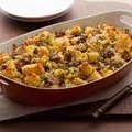 Cornbread Stuffing with Apples and Sausage (Patrick and Gina Neely)