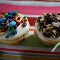 Easter Cupcakes with White Chocolate Frosting (Melissa  d'Arabian)