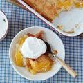 Easy Peach Cobbler (Trisha Yearwood)