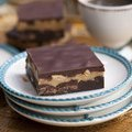 Fudgy Salty Peanut Butter Brownies (Anne Thornton) recipe