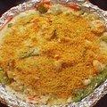 Garlic Shrimp Casserole (Alton Brown)