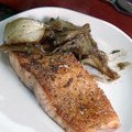 Glazed Salmon with Braised Fennel (Aaron McCargo, Jr.)