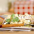 Greek Pasta Salad with Feta and Chicken (Robin Miller)