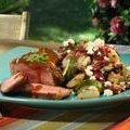 Grilled Lamb Chops with Mustard Barbecue Sauce (Bobby Flay)