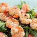 Grilled Roasted Garlic Shrimp Skewers (Sandra Lee)