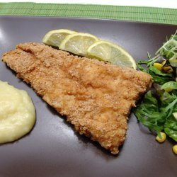 Baked Breaded Cod Fish