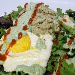 Egg Salad with Salmon & Dill