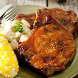 Soy Marinated Pork Chops