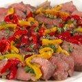 Grilled Sirloin Steaks with Pepper and Caper Salsa (Giada De Laurentiis)