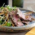 Grilled Steak and Papaya Salad (Bobby Flay) recipe