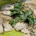 Grilled Tilapia with Lemon Butter, Capers and Orzo (Bobby Flay)