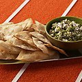 Guacamole with Cumin Dusted Tortillas (Bobby Flay)