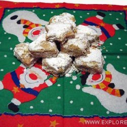 Kourabiedes: Greek Festive Cookies