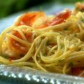 Lemony Shrimp Scampi Pasta (Melissa  d'Arabian)