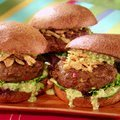 Malaysian Indian Curry-Spiced Beef Burgers recipe