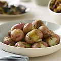 Oven Roasted Red Potatoes with Rosemary and Garlic (Paula Deen)