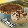 Pecan Pie with Chocolate-Cinnamon Whipped Cream (Rachael Ray)