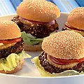 Pineapple Teriyaki Burgers (Sandra Lee) recipe