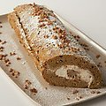 Pumpkin Roll Cake (Paula Deen)