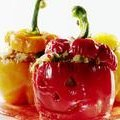Ratatouille Stuffed Jack-o-Peppers (Rachael Ray)