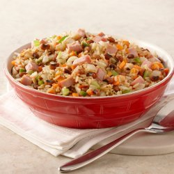 Black Eyed Peas & Rice with Ham