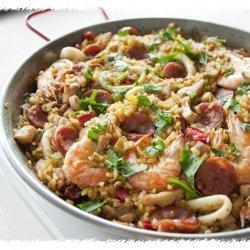 Spanish Chicken and Chorizo Paella