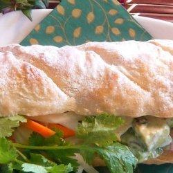 Prawn Banh Mi (Vietnamese Sandwich)