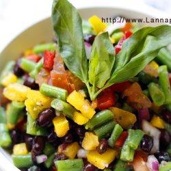 Bean Salad W/ Balsamic Dressing