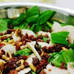 Jamie's Cranberry and Spinach Salad