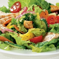 Salad ¦ Tossed with Chicken ¦ »