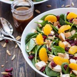 Spinach-Chicken Salad