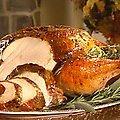 Roasted Butter Herb Turkey (Sandra Lee)