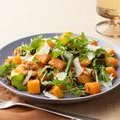 Roasted Butternut Squash Salad with Warm Cider Vinaigrette (Ina Garten)