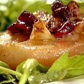 Roasted Pears with Blue Cheese (Ina Garten)