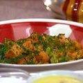 Roasted Sweet Potato and Green Onion Salad (Bobby Flay)