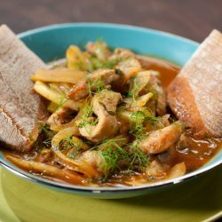 Sausage Deconstructed: Pork and Fennel One-Pot (Rachael Ray)