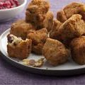 Second Day Fried Stuffing Bites with Cranberry Sauce Pesto (Sunny Anderson) recipe