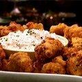 Shrimp Hushpuppies with Vidalia Onion Dip (Patrick and Gina Neely)